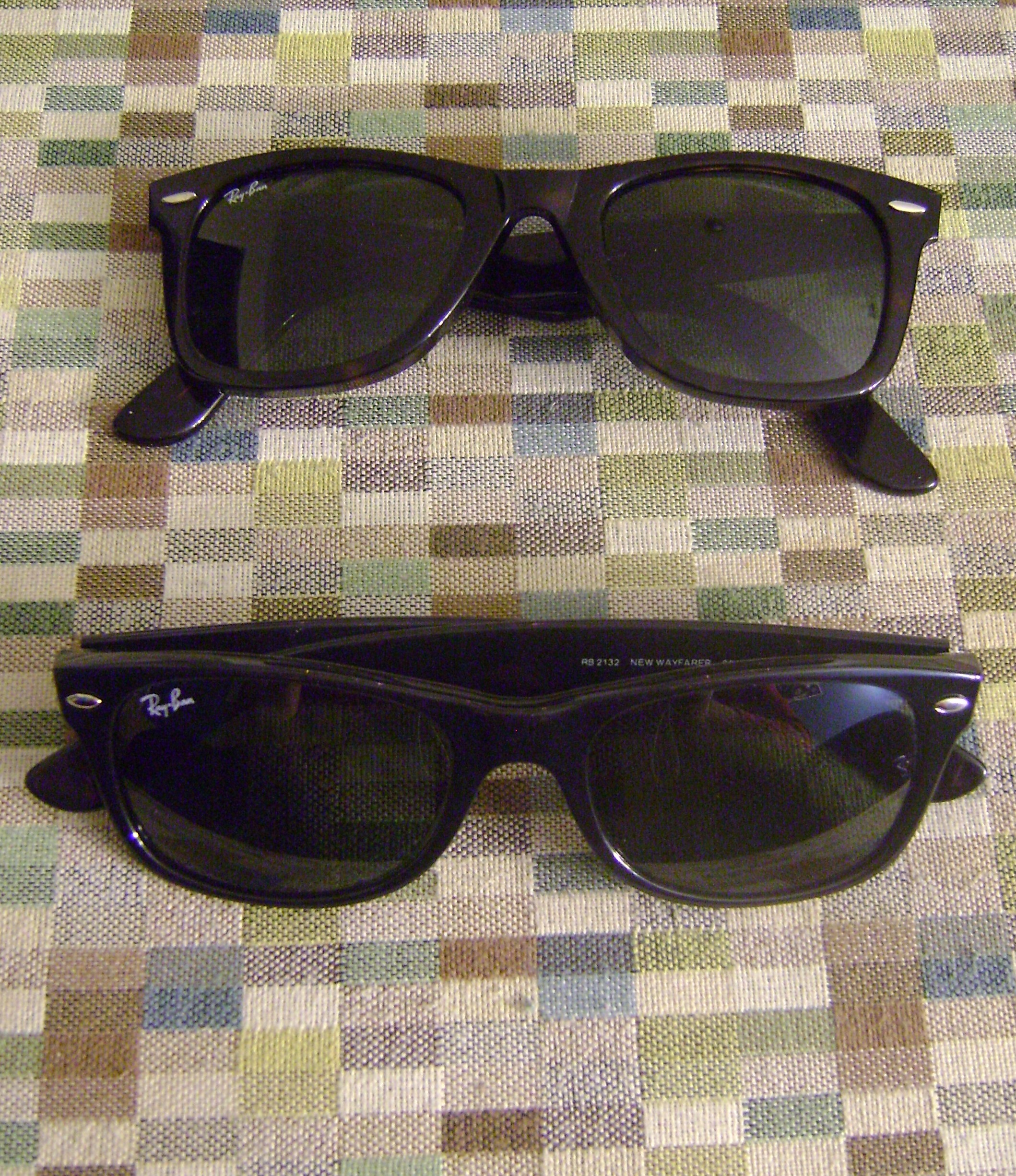 Ray Ban Wayfarer Old Vs New